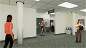 Entry to Enhanced Restrooms
