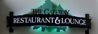 Gateway restaurant sign